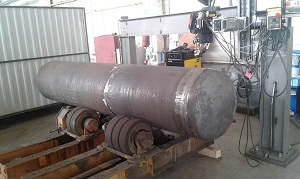 Tank for gas and fuel Pressure vessel, Boiler Vessel, Us stamp
